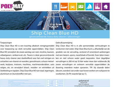 Ship Clean Blue HD